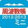 周波数帳ミニ2012-2013
