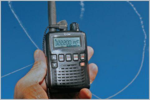 エアーバンド受信にオススメの受信機「IC-R6」