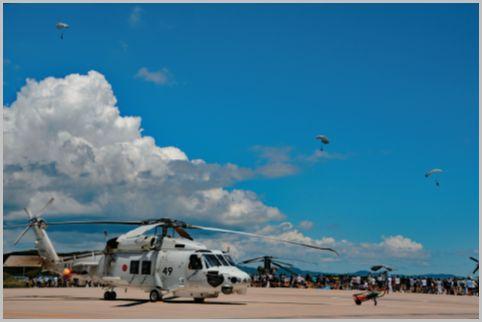 海上自衛隊イベントで楽しむヘリコプターフェス