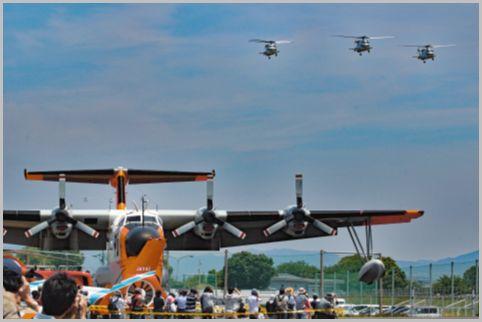 海上自衛隊イベントでは「航空祭」も見逃せない