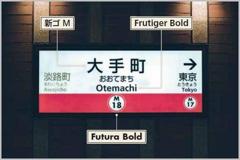 東京メトロと都営地下鉄の駅名標の共通化が進む