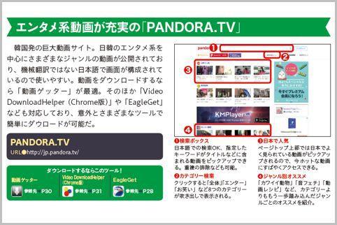 動画サイトのおすすめは韓国発「PANDORA.TV」