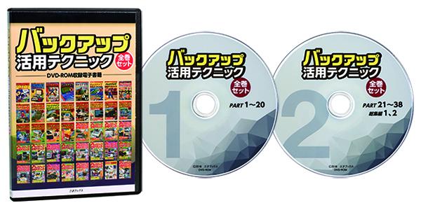 伝説のハッカー雑誌『バックアップ活用テクニック』全40冊のPDFデータを収録したDVD-ROM、通販開始!