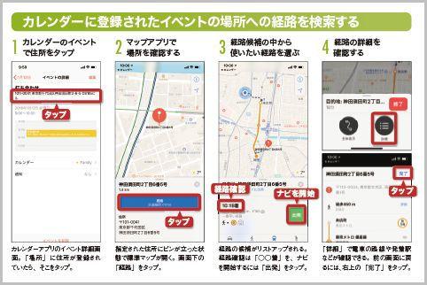 iPhoneの進化した標準マップを使いこなす方法