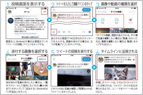 Twitterはユーザーとつながってツイートで交流
